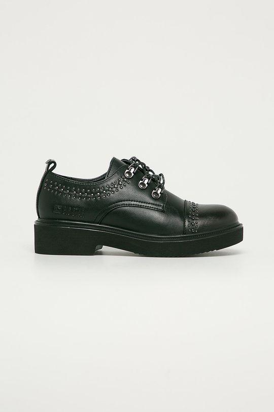 negru Big Star - Pantofi de piele De femei