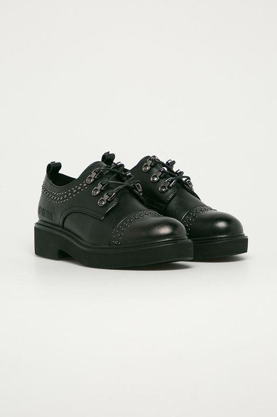 Big Star - Pantofi de piele negru