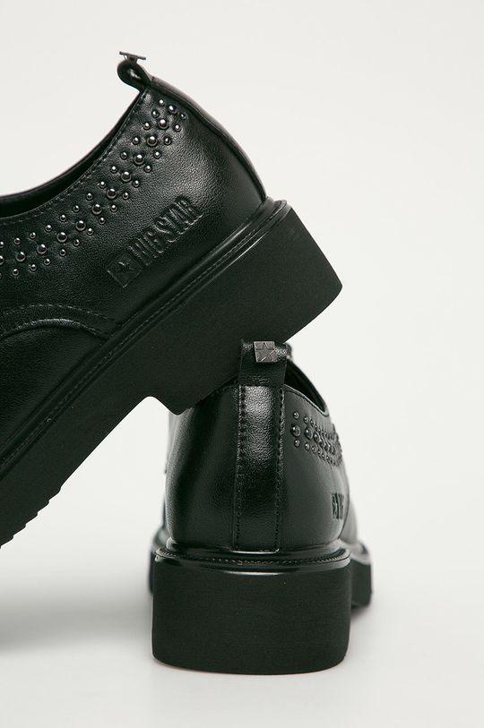 Big Star - Pantofi de piele  Gamba: Piele naturala Interiorul: Material sintetic Talpa: Material sintetic