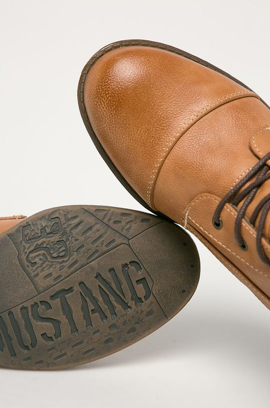 kávová Mustang - Členkové topánky
