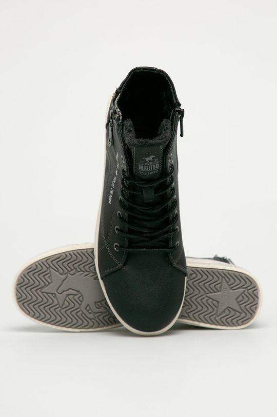 čierna Mustang - Topánky