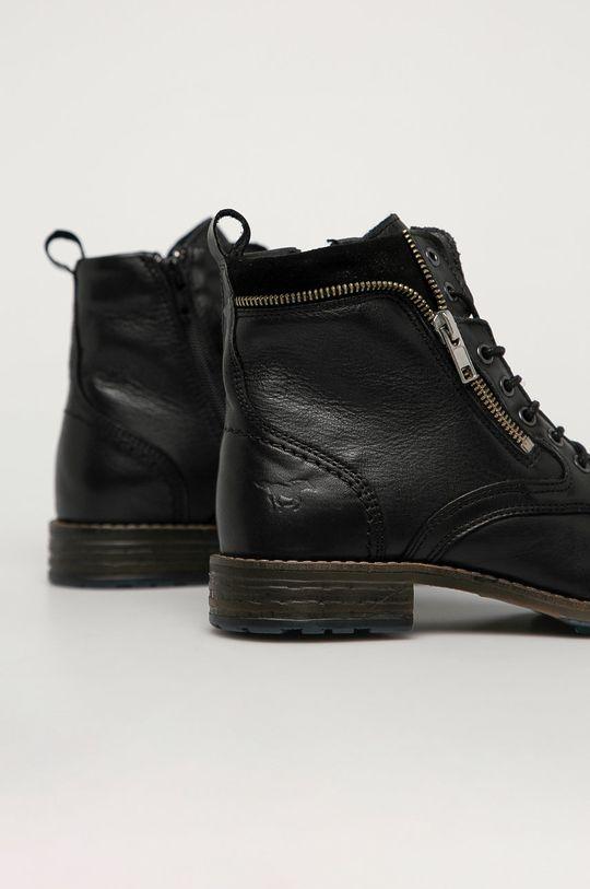 Mustang - Kožené kotníkové boty  Svršek: Přírodní kůže Vnitřek: Přírodní kůže Podrážka: Umělá hmota
