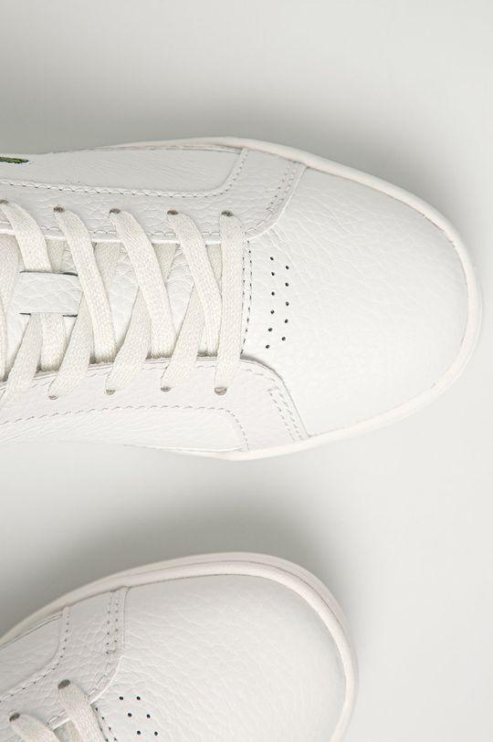 alb Lacoste - Pantofi