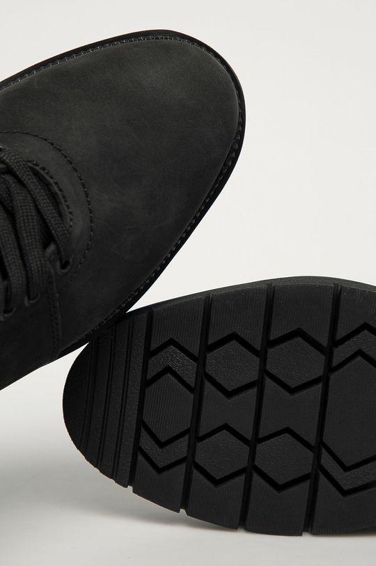 чёрный Levi's - Замшевые ботинки