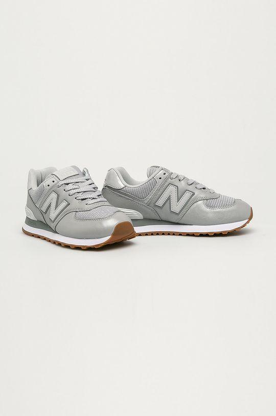 New Balance - Topánky WL574PMA sivá