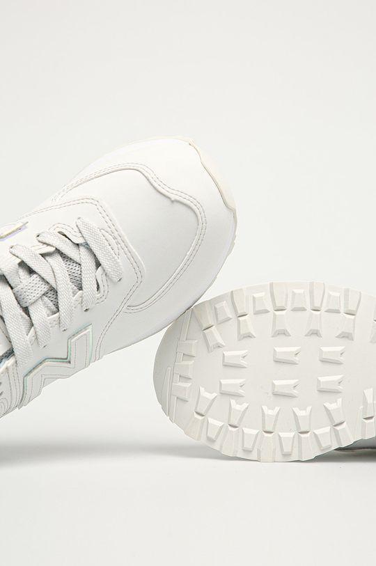 biały New Balance - Buty WL574CLD