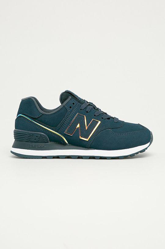 bleumarin New Balance - Pantofi WL574CLA De femei