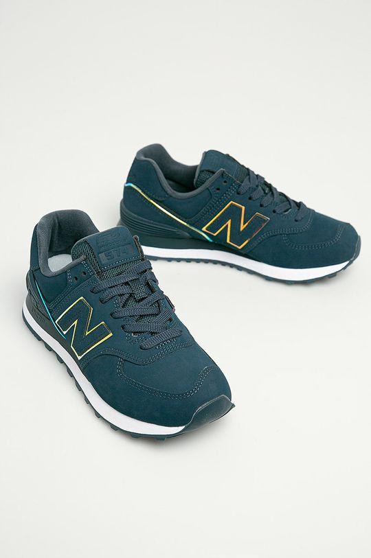 New Balance - Pantofi WL574CLA bleumarin