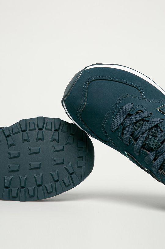 bleumarin New Balance - Pantofi WL574CLA
