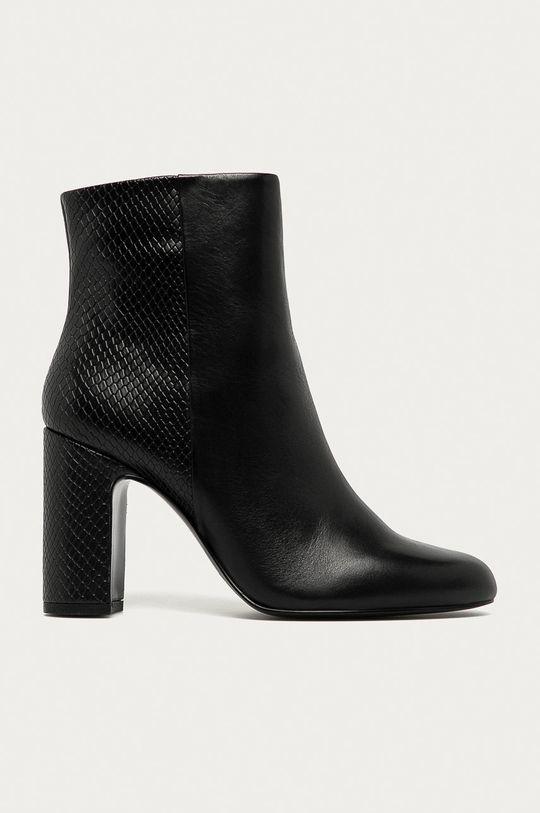 čierna Aldo - Členkové topánky Avlida Dámsky