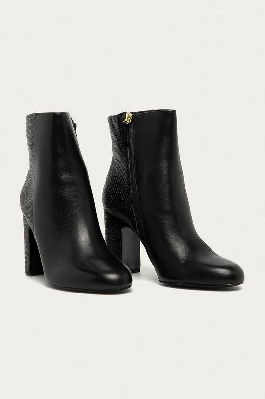 Aldo - Členkové topánky Avlida čierna