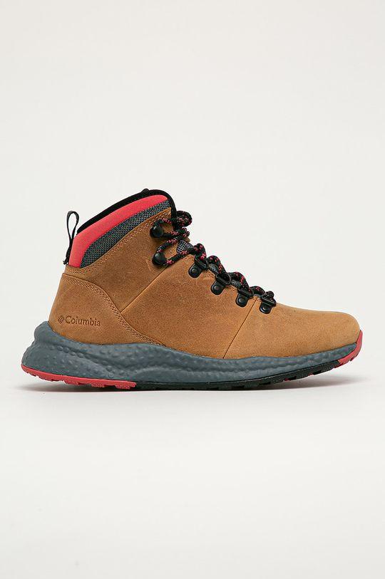 maro auriu Columbia - Pantofi Wp Hiker De femei