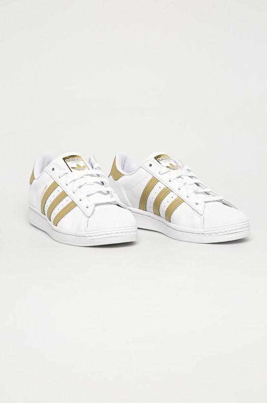 adidas Originals - Pantofi Superstar alb