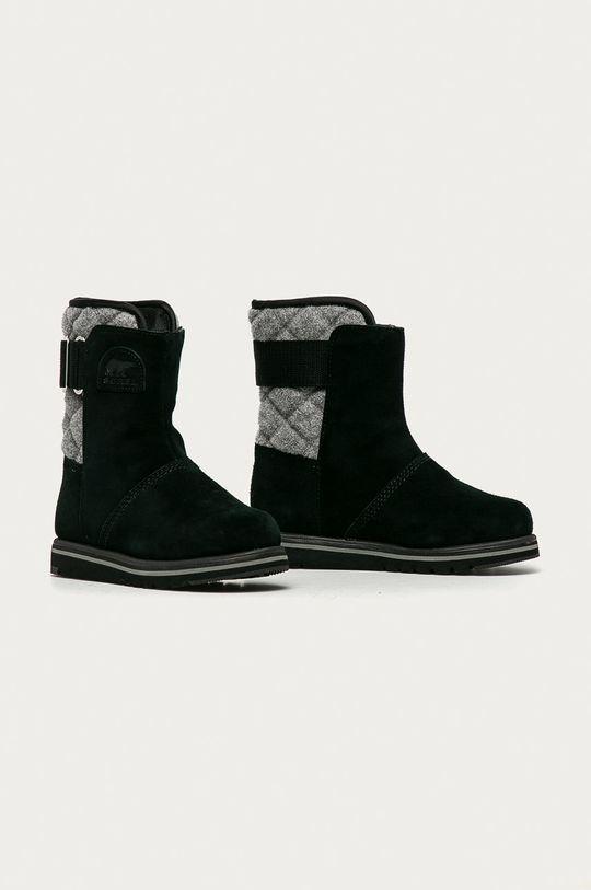 Sorel - Semišové boty Rylee černá