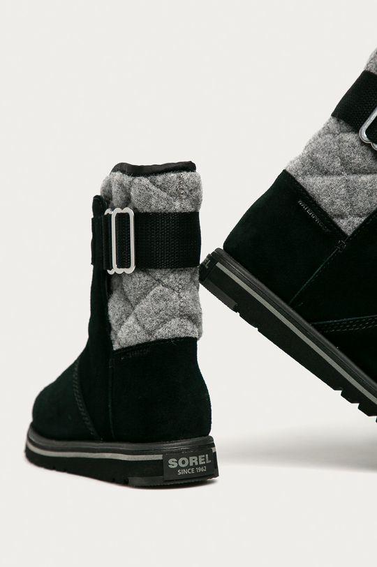 Sorel - Semišové boty Rylee  Svršek: Textilní materiál, Semišová kůže Vnitřek: Textilní materiál Podrážka: Umělá hmota
