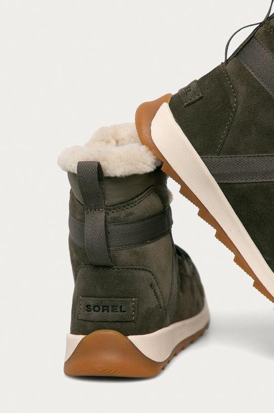 Sorel - Cizme de iarna Whitney II Flurry  Gamba: Material textil, Piele intoarsa Interiorul: Material textil Talpa: Material sintetic