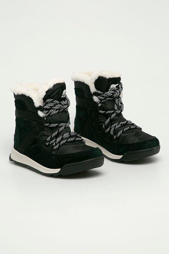 Sorel - Śniegowce Whitney II Flurry czarny