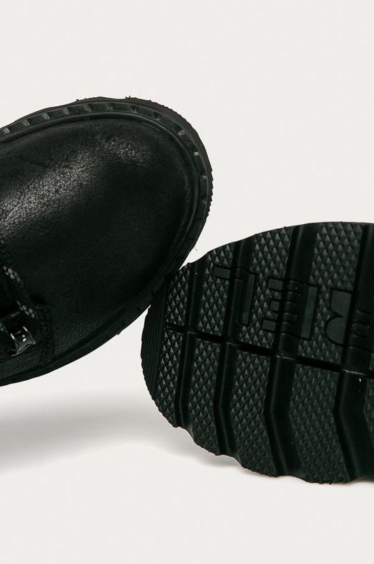 čierna Sorel - Kožené členkové topánky Lennox Lace