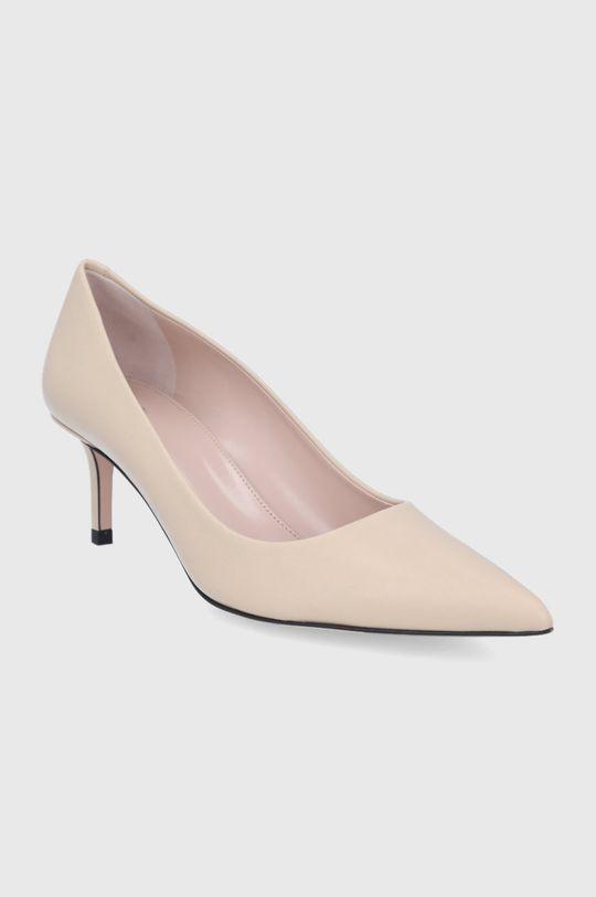 Hugo - Pantofi cu toc 50424228 culoarea tenului