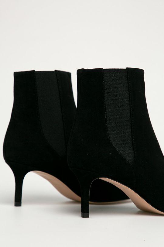 Hugo - Kožené kotníkové boty  Svršek: Textilní materiál, Semišová kůže Vnitřek: Textilní materiál, Přírodní kůže Podrážka: Umělá hmota