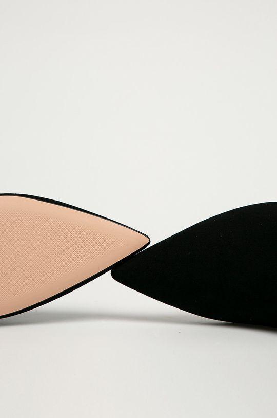 černá Hugo - Kožené kotníkové boty