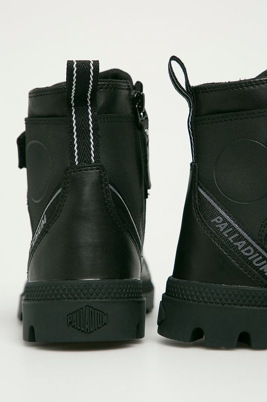 Palladium - Kožené boty  Svršek: Přírodní kůže Vnitřek: Textilní materiál Podrážka: Umělá hmota