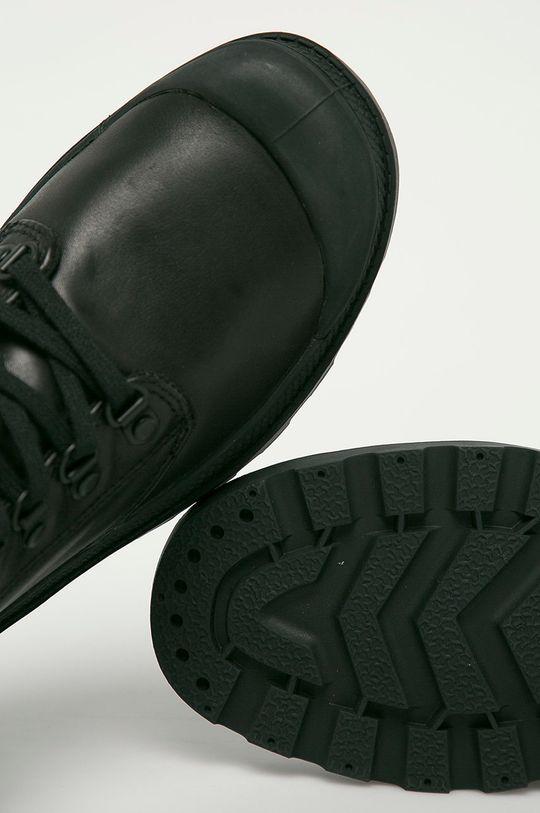 černá Palladium - Kožené boty