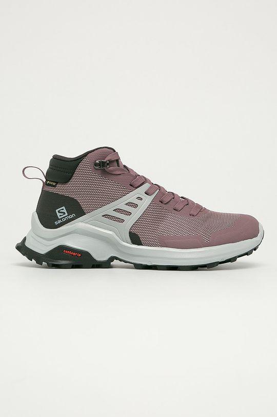roz murdar Salomon - Pantofi X Raise Mid GTX De femei