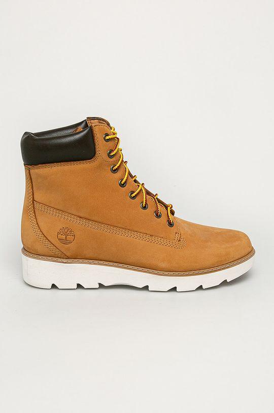 maro auriu Timberland - Pantofi Keeley Field De femei