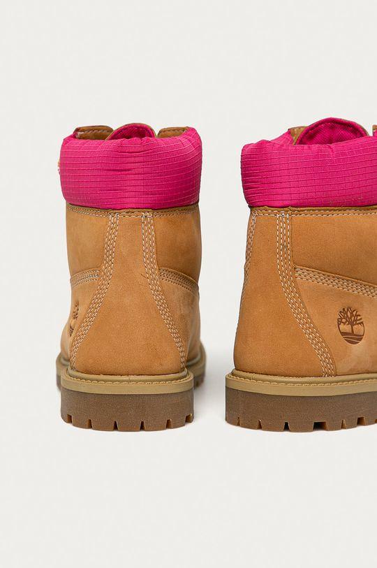 Timberland - Semišové boty Heritage 6 In  Svršek: Textilní materiál, Přírodní kůže Vnitřek: Textilní materiál Podrážka: Umělá hmota