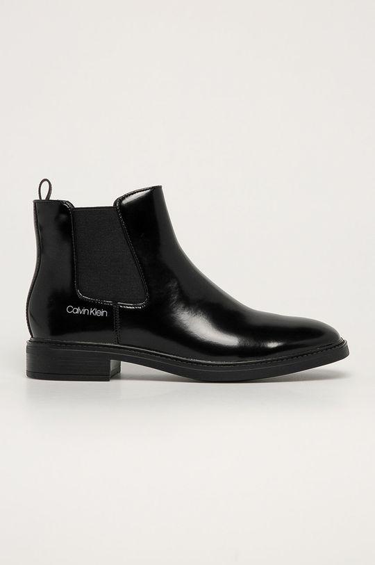 černá Calvin Klein - Boty s gumou Dámský