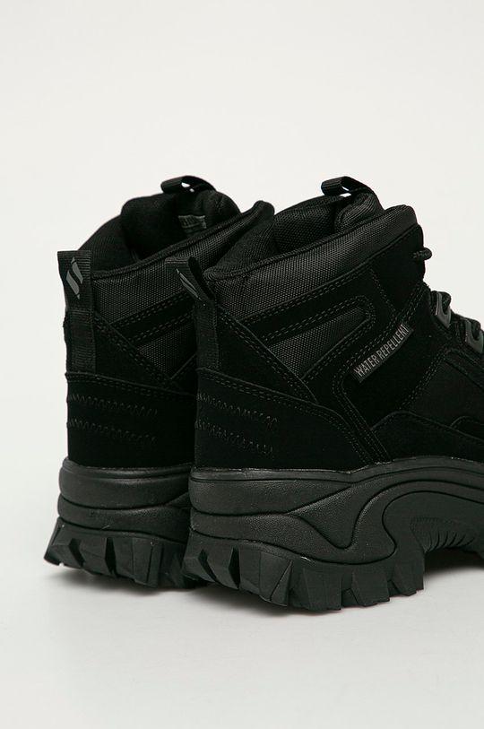 Skechers - Kožené boty  Svršek: Přírodní kůže Vnitřek: Textilní materiál Podrážka: Umělá hmota