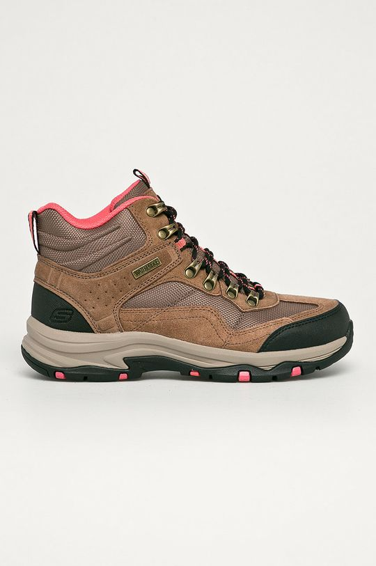 maro auriu Skechers - Pantofi De femei
