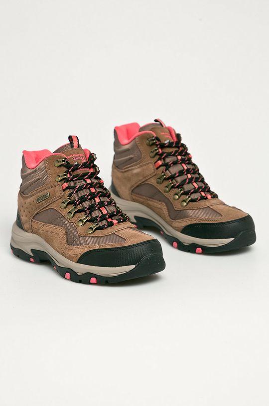 Skechers - Pantofi maro auriu