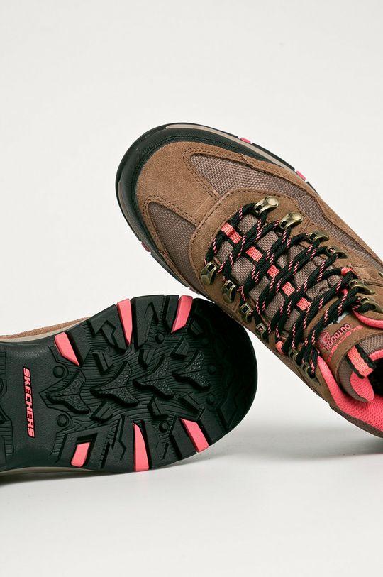 maro auriu Skechers - Pantofi