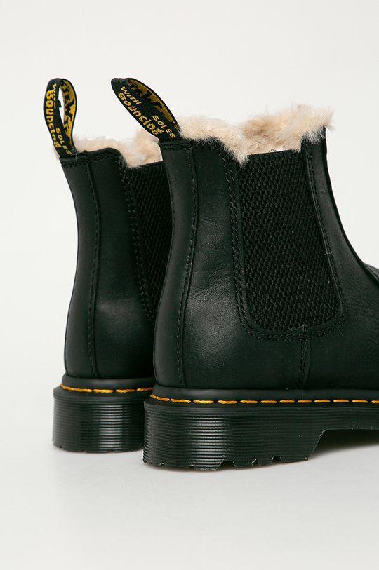 Dr. Martens - Kožené kotníkové boty 2976 Leonore  Svršek: Přírodní kůže Vnitřek: Umělá hmota, Textilní materiál Podrážka: Umělá hmota