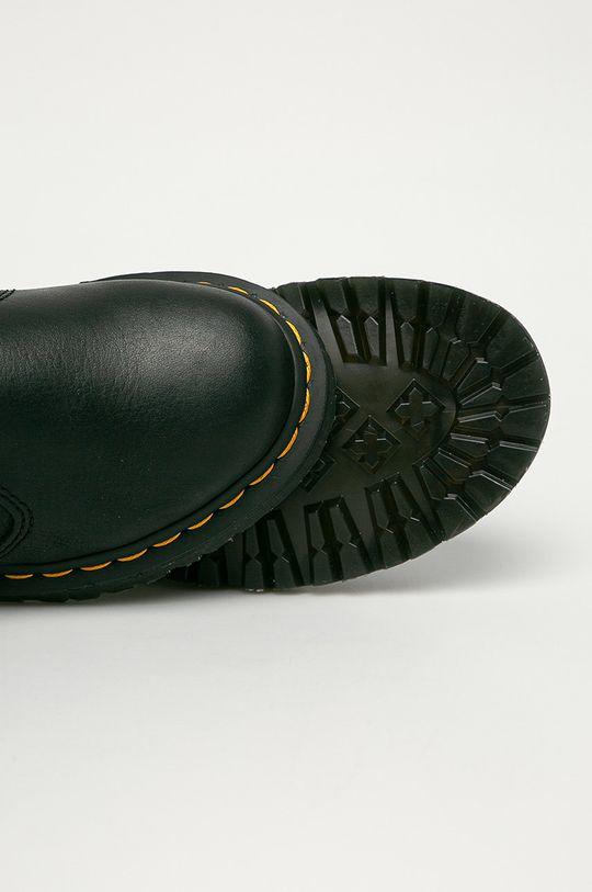 černá Dr. Martens - Kožené kotníkové boty 2976 Leonore