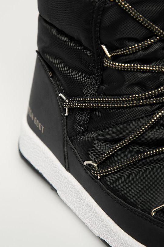 negru Moon Boot - Cizme de iarna JR G.Quilted