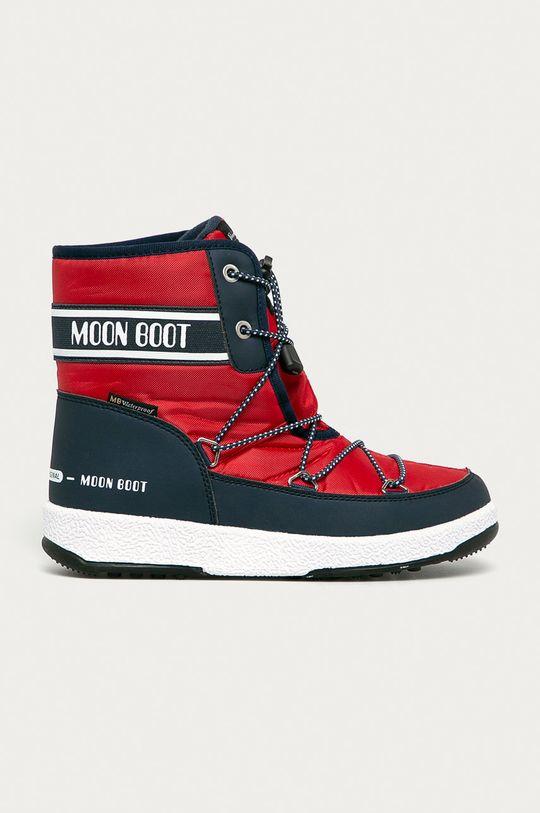 červená Moon Boot - Sněhule Dámský