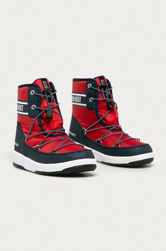 Moon Boot - Sněhule červená