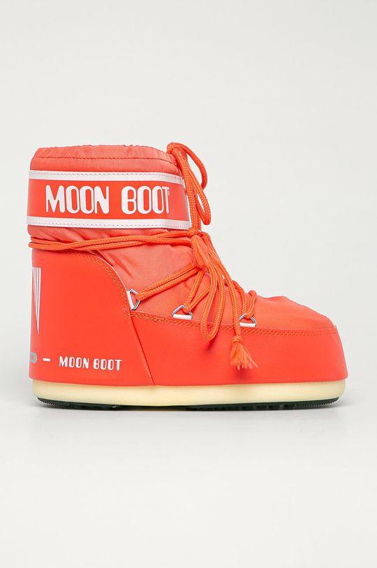 oranžová Moon Boot - Snehule Classic Low Dámsky