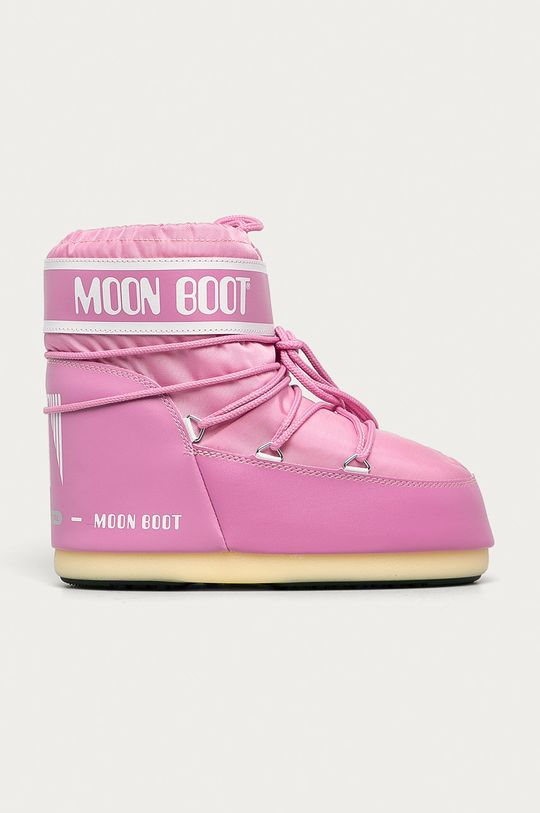 růžová Moon Boot - Sněhule Classic Low Dámský