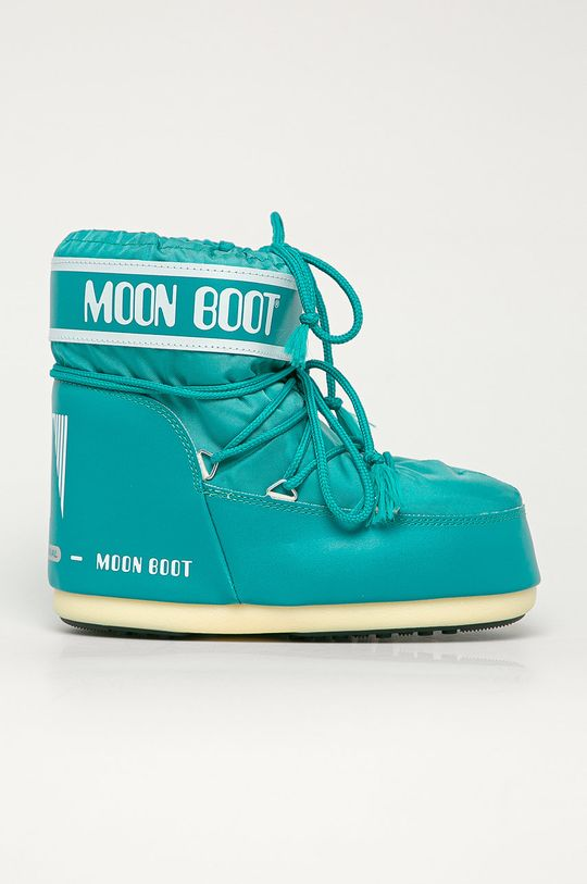 tyrkysová Moon Boot - Sněhule Classic Low Dámský
