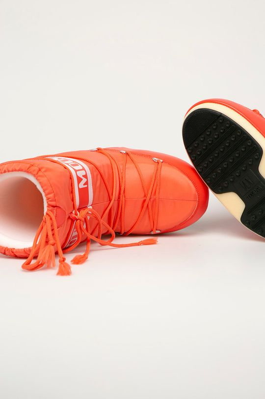 czerwony Moon Boot - Śniegowce Nylon