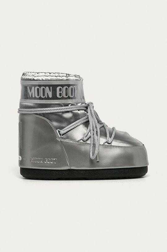 stříbrná Moon Boot - Sněhule Classic Low Glance Dámský