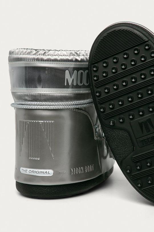 stříbrná Moon Boot - Sněhule Classic Low Glance