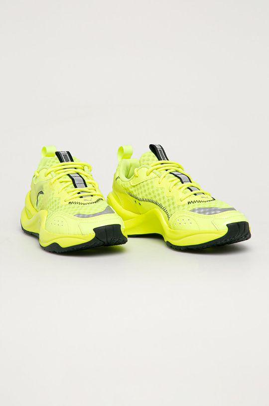 Puma - Topánky Rise Neon žltá