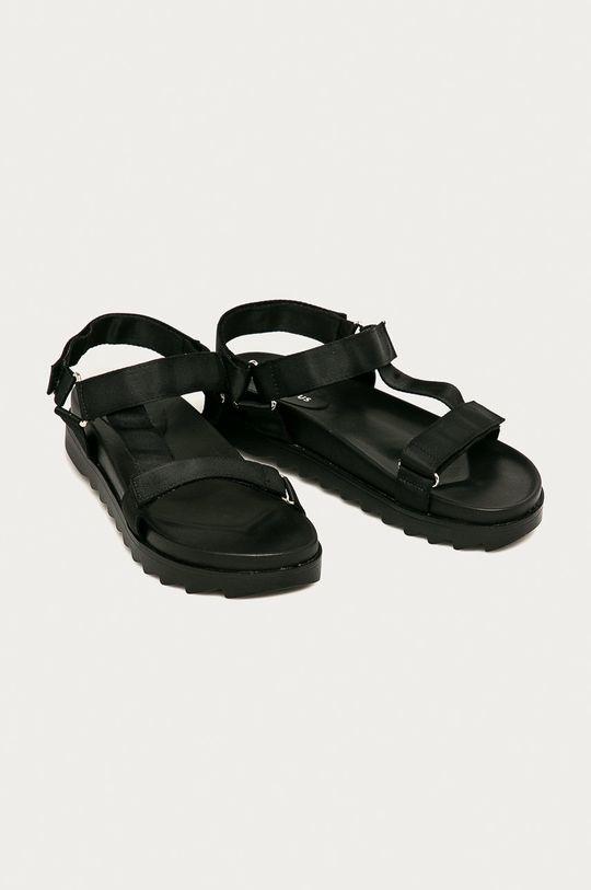 Glamorous - Sandály černá