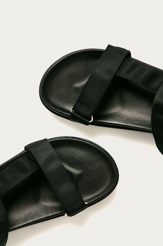 černá Glamorous - Sandály