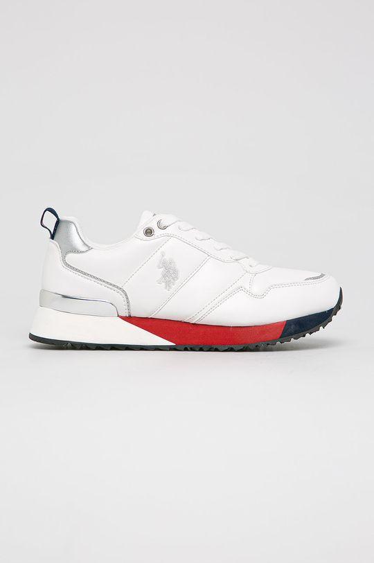 alb U.S. Polo Assn. - Pantofi De femei